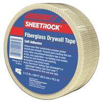 US Gypsum 385201020 Drywall Joint Tape, 2-1/2 in W x 250 ft L, Fiberglass