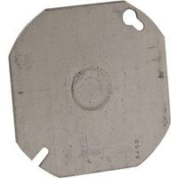 Hubbell 724 Octagon Flat Electrical Box Cover