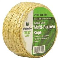 Wellington Puritan Rhino-Kote Sisal Rope