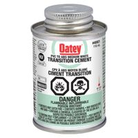 Oatey 31532 Abs/PVC Transition Cement