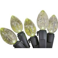 LIGHT SET 50 C5 GLITTER CLEAR