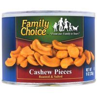 Family Choice 808 Cashew Pieces