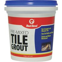Red? Devil 428 Pre-Mixed Tile Grout?