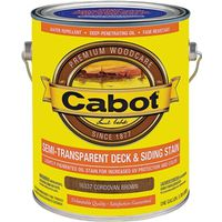 Cabot 16300 Semi-Transparent Deck and Siding Stain