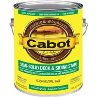 Cabot 17400 Semi-Solid Deck and Siding Stain