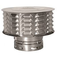 AmeriVent 6ECW Double Wall Gas Vent Cap