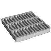 NDS 0902SDB Square Grate With UV Inhibitor