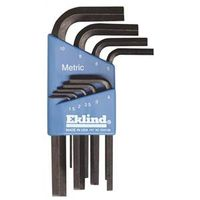 Eklind 10509 L Handle Short Arm Hex Key Set
