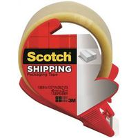 Scotch 3350S-RD Lightweight Shipping Packaging Tape