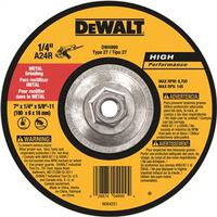 Dewalt DW4999 Type 27 Grinding Wheel