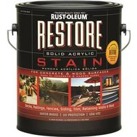 Restore 47000 Low Odor Ultra Low VOC Concrete and Wood Exterior Stain