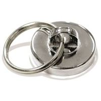 Master Magnetics 07287 Round Magnet Key Ring