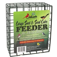 Heath Outdoor S-4 Large Suet and Seed Cake Feeder