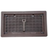 Bestvents 500BR Manual Foundation Vent with Damper