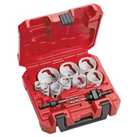 Ice Hardened 49-22-4025 Bi-Metals Hole Saw Kit