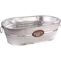 WASH TUB HTDP OVAL 10-1/2 GAL