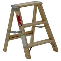 Michigan 1100-02 Pine Step Ladder