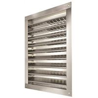 LL Buildsite DA1218 Rectangle Dual Louver