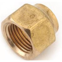 Anderson Metal 754018-06 Brass Flare Fitting