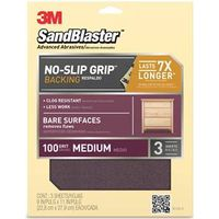 Premium Sand Paper? With NO-SLIP GRIP Backing