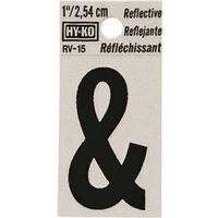 Hy-Ko RV Reflective Weather Resistant Symbol Sign