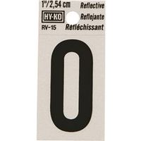 Hy-Ko RV Reflective Weather Resistant House Number