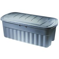 STORAGE TOTE 50 GAL GRAY