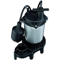 Flotec FPZS50T Submersible Sump Pump With Tethered Float Switch