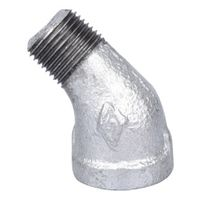 World Wide Sourcing PPG121-10 Galvanized 45 Deg Elbow