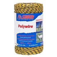 Fi-Shock PW656Y6-FS Electric Fence Polywire