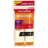 Wooster JUMBO-KOTER MOHAIR BLEND Shed Resistant Paint Roller Cover