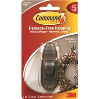 Command FC12-ORB Medium Decorative Hook