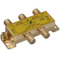 Zenith VS3001SP4W 4-Way Coaxial Splitter