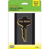 Hy-Ko KC168 Stick-On Key Wallet
