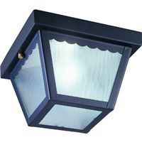 Boston Harbor 6276BK3L Impact Porch Light Fixture