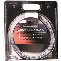Baron 83105/50130 Pre-Cut Extra Flexible Aircraft Cable