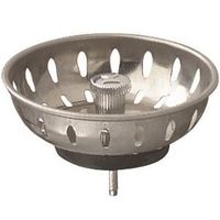 PlumbPak PP22022 Sink Basket Strainer With Fixed Post and Stopper
