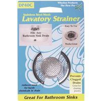 Whedon DP40C Lavatory Strainer With Chrome Ring