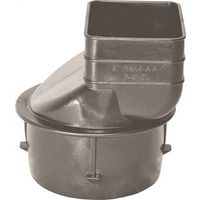 Hancor 0465AA Corrugated Large Downspout Adapter