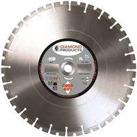 Diamond Products 84967 Segmented Rim Arbor Cut-All Circular Saw Blade