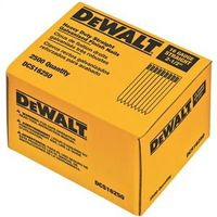 Dewalt DCS16250 Collated Finish Nail