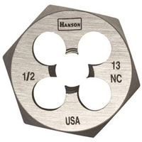 Hanson 6852 Machine Screw Hexagonal Die