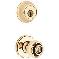 Kwikset Polo 690P3CP6ALRCSK6 Single Cylinder Deadbolt Entry Knob Lockset