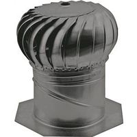 GAF Master Flow AIC14BL Internal Braced Rotary Turbine Ventilator