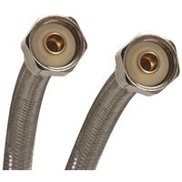 Fits All B4F30CU Braided Flexible Faucet Connector