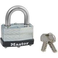 Master Lock 500D Self-Lock Laminated Warded Padlock