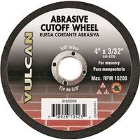Vulcan 918200OR Cut-Off Wheel