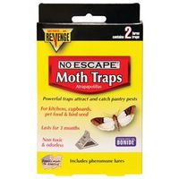 Bonide Revenge 124 Non-Toxic Odorless Pantry Pest Trap
