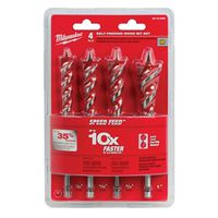 Milwaukee 48-13-0400 Speed Feed Wood Bit Set