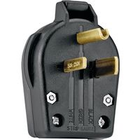 Cooper S42-SP Grounded Angled Electrical Plug